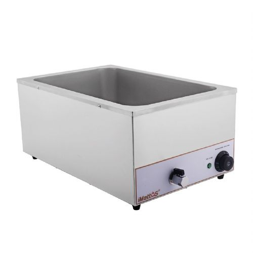 Bain Marie Wet Heat Depth 150mm With Drain Tap - BM-165T